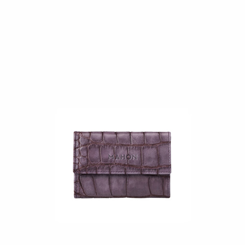 mahon_luxury_designer_leather_accessories_enmimano_cardcase_crocpurplegray