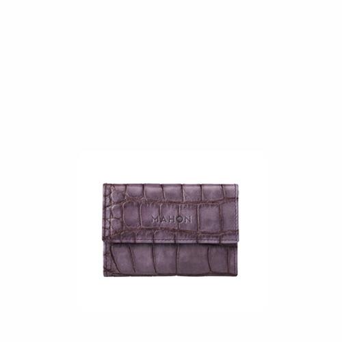 mahon_luxury_designer_leather_accessories_enmimano_cardcase_crocpurplegray