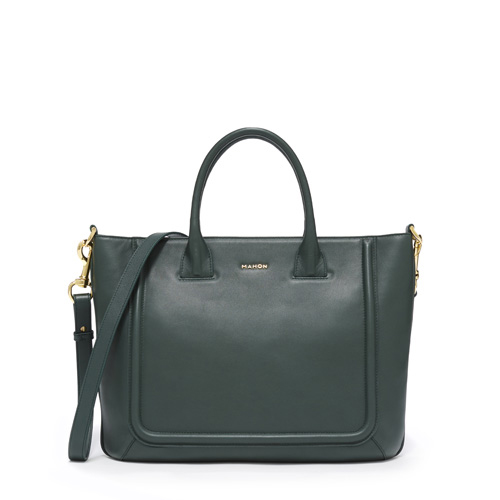 mahon_luxury_designer_leather_bags_fichero_tote_forestgreen