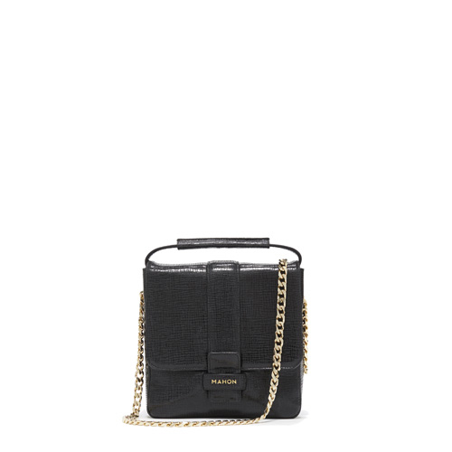 mahon_luxury_designer_leather_bags_magia_chain_glossyblack