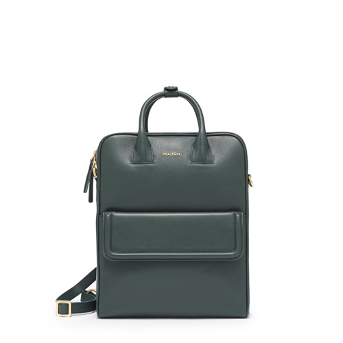 mahon_luxury_designer_leather_bags_trabajadora_backpack_forestgreen
